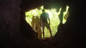 A Bermudian cave