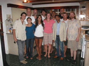 The crew - back to front (L to R):  Phil, Gil, J. Nelson, Carl, J. Rife/Alex, Yami, Jenny, Amy, Rehan, Terrence, J. Jones