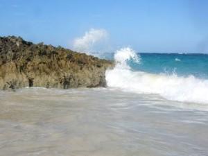 Karst limestone in Bermuda