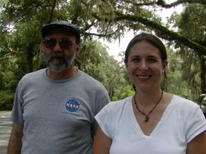 Microbial ecologists - Aaron Mills, Ph.D., and Rima Franklin, Ph.D.