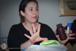 Dr. Rima Franklin explains which samples go where