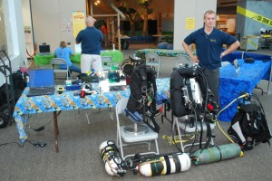 Karl Shreeves highlights the various equipment configurations used in cave diving vs. open water diving.