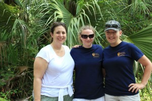 Rima, Amber, and Marissa - the project directors