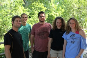 Summer 2011 interns - Steve, Andrew, Shawn, Rachel, and Amber